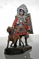Toy lead soldier,Royal roman with the dog,hand painted,very detailed,rare,gift