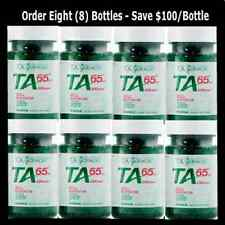 TA 65 ~ 8 Bottles of 90 Capsules ~ Telomerase Anti Aging Supplement TA Sciences