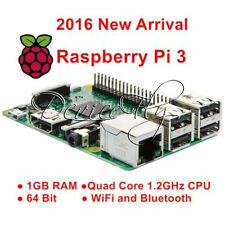 1.2GHz Raspberry Pi 3 Model B 1GB Quad Core Broad 64bit BCM2837 WiFi Bluetooth
