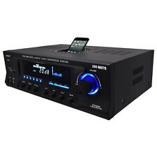 300W DJ PROFESSIONAL HOME AUDIO DIGITAL STEREO 2 CHANNEL POWER AMP AMPLIFIER FM