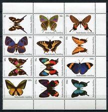 Niederl. Antillen Antilles 2003 Schmetterlinge Butterflies 1184-1195 ** MNH