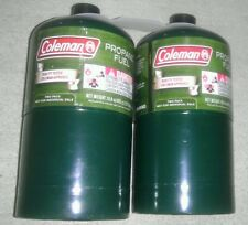 NEW Coleman Propane Cylinders Tanks, 16.4 oz, Set of 2, Camping, Survival