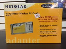 NetGear RangeMax Wireless PC Card