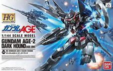 BANDAI 764836 HG 1/144 GUNDAM AGE 24 Gundam Age-2 Dark Hound from Japan