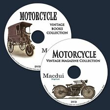 Motorcycle Vintage Books & Magazine Collection 47 PDF E-Books on 2 DVD Motor