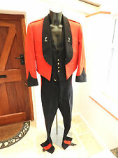 Military 1960 Major S.G.D.Lowe Complete Mess Dress Uniform Tunic Waistcoat (4475