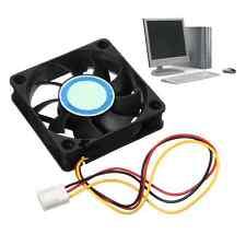 3Pin 60mm*60mm*15mm 12V Silent Desktop PC CPU Fan Cooling Cooler For Computer