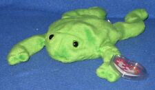 TY LEGS the FROG BEANIE BABY - MINT with MINT TAG