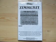 ATAK model Zimmerit for Bergepanther (resin) in 1:35 scale.