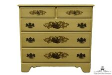 ETHAN ALLEN Heirloom Hand Decorated Hitchcock Stenciled 36″ Chest