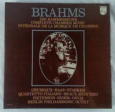 Brahms: Complete Chamber Music/Grumiaux/Starker Philips 6768 146 15LP Box Set NM