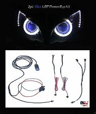 Blue Demon * Devil Eye * LED Motorcycle Headlight Evil Projector Backlight Kit