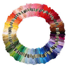 45X Mixed Color Embroidery Thread Cross Stitch Floss Sewing Skeins Cotton Thread