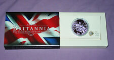 2011 ROYAL MINT OFFICIAL 1OZ SILVER BULLION £2 BRITANNIA COIN IN BOX