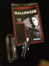 FUNKO REACTION Horror Series MICHAEL MYERS from HALLOWEEN  LOOSE Figure KENNER