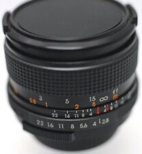 Deitz MC Auto 28mm F2.8 M42 Screw Mount Prime Lens For SLR & Mirrorless Cameras