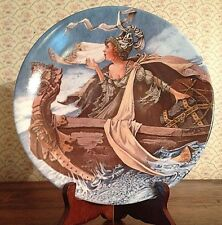 Canterbury Tales Collection 'The Man of Law's Tale' collectors plate Longton Cro