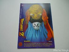 Carte originale Dragon Ball Z Fighting Cards N°16 / Panini 1999 BIRD STUDIO