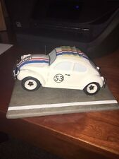 The Love Bug Herbie Rarin' To Race figure !  New in Box.  Pristine Condition LE