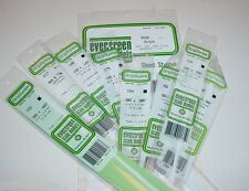 Evergreen Styrene Square Rod & Round Tube Plastic Sheet Assortment In stock