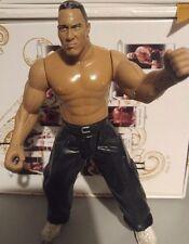 WWE The Rock Jakks Pacific Action-Figur 2003 Wrestling WWF Long Trousers