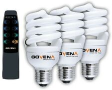 Govena Energy saving Remote  bulbs 20w B22 E27 dimmable mens gift present CFL
