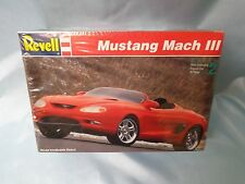 FORD MUSTANG MACH III CONCEPT CAR 1/25 1994 REVELL NEW FACTORY SEALED