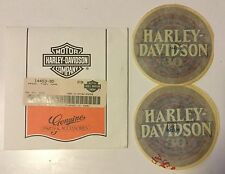 HARLEY DAVIDSON ELECTRA GLIDE 30th ANNIVERSARY FUEL TANK DECAL SET NOS RARE