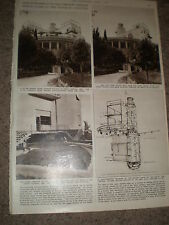 Photo article Villa Girasole Marcellise Verona Italy 1956 ref Z