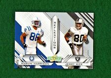 2003 Score Reflextions #R12 Jerry Rice/Marvin Harrison