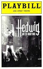 """Michael Cerveris """"HEDWIG and the ANGRY INCH"""" John Cameron Mitchell 1999 Playbill"""