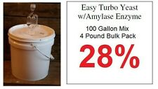 100 Gallon Turbo Yeast - Bulk Package - Alcohol Distillers Yeast Moonshine Still
