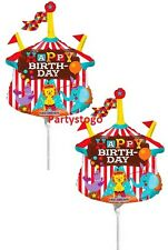 6 CIRCUS TENT BALLOONS BIRTHDAY PARTY MINI SHAPE FAVORS DECORATION CENTERPIECES