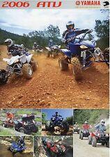 Prospekt 2006 Yamaha ATV Grizzly Wolverine Bruin Kodiak brochure Japan 4 06 Asia