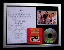 SPANDAU BALLET True LTD TOP QUALITY CD FRAMED DISPLAY+EXPRESS GLOBAL SHIPPING