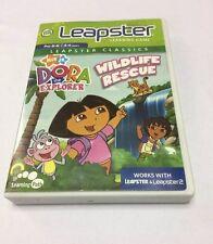 LEAPSTER NICK JR DORA THE EXPLORER WILDLIFE RESCUE LEARNING GAME LEAPFROG