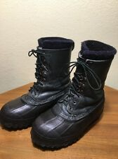 Mens Steel Shank Lacrosse Iceman Work Winter Hunting Boots Size 8 WARM!