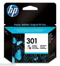 No 301 Colour Original OEM Inkjet Cartridge For HP 1050