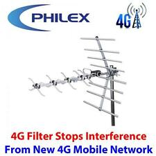 PHILEX 4G READY 32 ELEMENT DIGITAL WIDEBAND FREEVIEW HD AERIAL LOFT OR ROOF