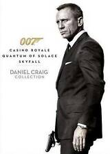Daniel Craig 007 Triple Pack/Casino Royale/Quantum of Solace/ Skyfall DVD - New