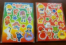 Rainbow Brite Retro Vintage Style Magnets Lot 28 TOTAL NEW NIP 2010