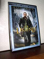 I Am Legend starring Will Smith  (DVD, 2008, 2-Disc Set, Special Edition)