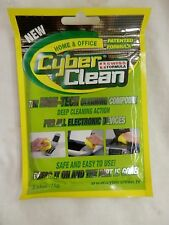 New Cyber Clean AntiStatic Computer Cleaning Pads 75g Pouch Swiss Formula