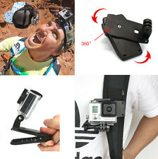 New Black Travel Quick Clip AU Mount for GoPro HD Hero Camera Accessories GR