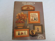 THE AMISH II Apple Tree Boy Girl Goose Farm 4 COUNTED CROSS STITCH PATTERNS