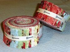 "DEVOTION 2.5"" Strips (40) Jelly Roll Quilt Fabric Iron Orchid Designs"