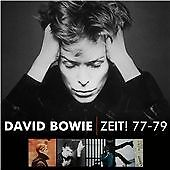 David Bowie - Zeit! 77-79 NEW 5 X CDS