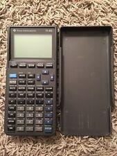 Texas Instruments T1-82 Graphing Calculator--Working!