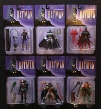 HASBRO KENNER SPECIAL LEGENDS EDITIONS BATMAN 6 ACTION FIGURE COMPLETE SET G16