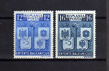RUMANIA/ROMANIA 1940 MNH SC.504/505 MI.615/616 Coats of Arms